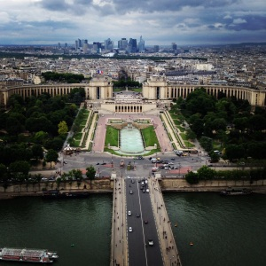 Paris from Le Tour Eiffel