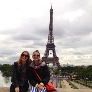 Le Tour Eiffel avec ma Petite Sœur