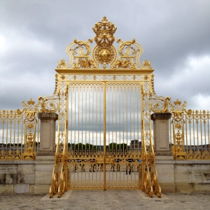 Palace of Versailles Golden Gates