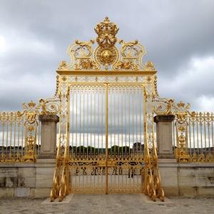 Palace of Versailles Golden Gates