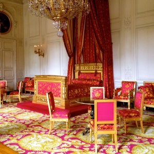 Pink Interior Perfection. Palace of Versailles.