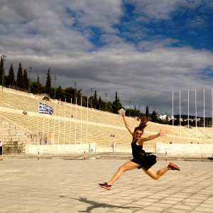 Feeling Sporty at the Panathenaic Stadium