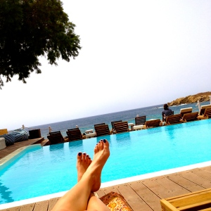 Poolside at Paraga Beach Hostel