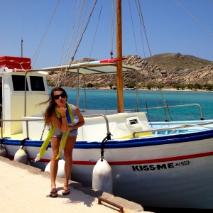 'Kiss-Me' - Our Ferry to Kolimbithres