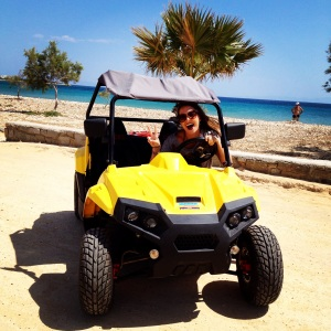 Explore the Island in a Rented Buggy